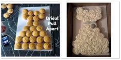 bridal pull apart cupcake cake