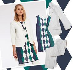 Argyle style reloaded #dress #fashion
