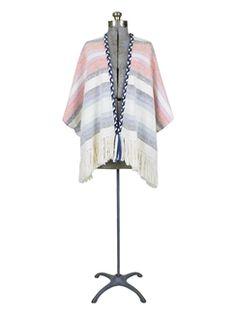 Ulla Johnson - Georgia Striped Handloom Wrap Mixte