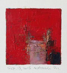 Hiroshi Matsumoto oil painting sep132015