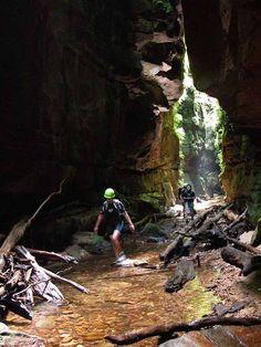 Claustral Canyon, NSW, Australia