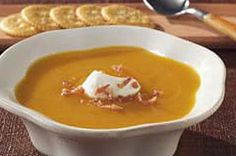 Try out our Creamy Butternut Squash Soup recipe no matter your culinary skill level. Even beginner cooks can master delicious Creamy Butternut Squash Soup. Kraft Foods, Kraft Recipes, Fall Recipes, Soup Recipes, Cooking Recipes, Cranberry Recipes, Veggie Recipes, Creamy Butternut Squash Soup Recipe, Chicken And Butternut Squash