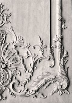 Wood carved French panel - hand carved by Agrell Architectural Carving✿⊱╮ …