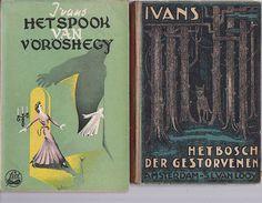 Online veilinghuis Catawiki: Detective  Lot met 4 uitgaven van Ivans - 1925/1936