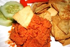 awesome red pepper hummus dip chickpea red pepper dip recipes yummly ...