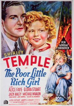 The Poor Little Rich Girl starring Shirley Temple, 1936.