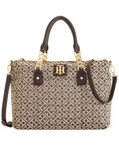ad46fc0c058 Tommy Hilfiger Bombay Convertible Shopper   Reviews - Handbags    Accessories - Macy s