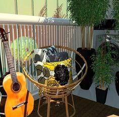 #NaianneVidalInteriores  Varanda e área de serviço integradas  Neste espaço a solução foi delimitar cada ambiente com vasos de plantas altas  Assim cada cantinho tem a sua própria identidade. Photo And Video, Instagram, Identity, Terrace, Environment, Projects