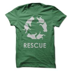 #tshirts... Cool T-shirts  Rescue . (Cua-Tshirts)  Design Description: Show the world you support dog rescue!  If you do not utterly love this Tshirt, you'll SEARCH your favourite one by means of using search bar on the header....