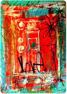 Traci Bautista...artJOURNALING daily: LOVE by treiCdesigns, via Flickr