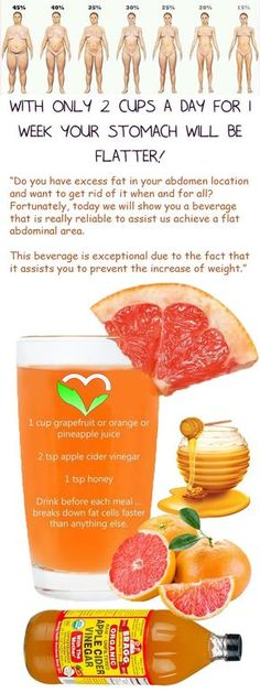 apple cider vinegar benefits for weight loss low fat high fiber diet menu diet mayo basic exercise to reduce weight fruits that burn belly fat 7 day weight loss eating plan abcextreme weight loss recipes grapefruit juice diet different diets to lo Healthy Drinks, Get Healthy, Healthy Tips, Healthy Recipes, Diet Recipes, Healthy Beauty, Healthy Meals, Healthy Detox, Diet Drinks