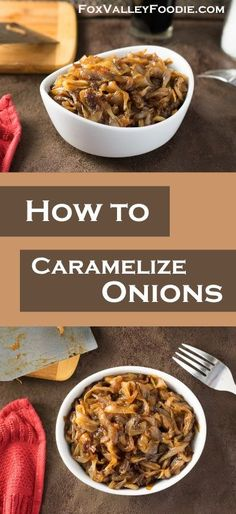 Learning how to caramelize onions should be on every home cook's bucket list. Caramelized onions are an intensely flavorful ascension from the simple onion which gave it birth. Cooking For A Group, New Cooking, Cooking Tips, Cooking Recipes, Cooking Ham, Cooking Steak, Cooking Videos, Vegetarian Cooking, Cooking Light