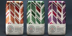 Cut Ground Coffee — The Dieline - Branding & Packaging Design