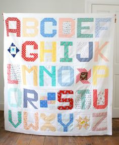 Spell It With Fabric Quilt Top