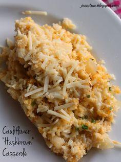"""Cauliflower """"Hashbrown"""" Casserole"""