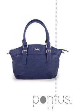 Mala Lois Mandala senhora 43981 40x28x10cm azul | JB