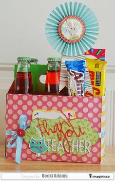 Teacher Appreciation Gift Idea by Becki Adams