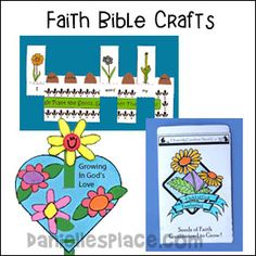 Faith Bible Crafts for Kids