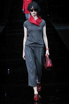Emporio Armani Milan Fashion Week Fall/Winter 2015