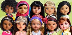 Heart for Heart Dolls: Because African Girl Dolls, Mexican Girl Dolls and Laotian Girl Dolls are just as fun as the American ones.