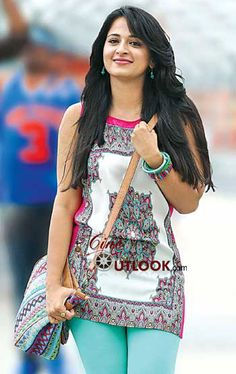 Anushka In Mirchi Movie