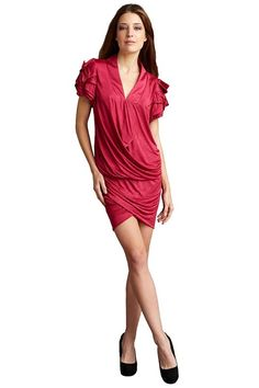 e8cd70fdb55 BCBGeneration Red Berry Bcbg Long Maxi Dress. Free shipping and ...