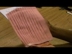 How to Sew a Knife Pleat - YouTube