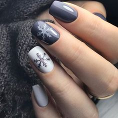 nail art designs for winter & nail art designs . nail art designs for winter . nail art designs for spring . nail art designs with glitter . nail art designs with rhinestones Winter Nail Art, Winter Nail Designs, Short Nail Designs, Winter Nails, Nail Ideas For Winter, Christmas Nail Art Designs, Spring Nails, Summer Nails, Christmas Gel Nails