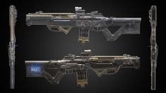 ArtStation - CLEANER ︳〘 清洁器 〙︳, Cane T Game Assets, Firearms, Weapons, Artwork, Rifles, Engineer, Costume Ideas, Concept, Design