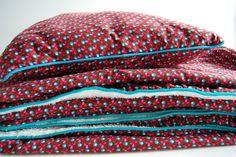 Kussen + deken by Needle work, via Flickr