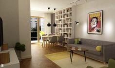 Salon styl Minimalistyczny - zdjęcie od Grafika i Projekt architektura wnętrz - Salon - Styl Minimalistyczny - Grafika i Projekt  architektura wnętrz
