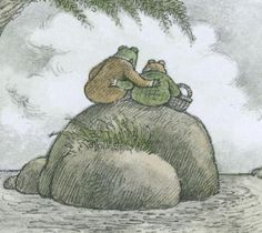 Frog & Toad series by Arnold Lobel.  Philosophical, kind, teaches the meaning of friendship and support.