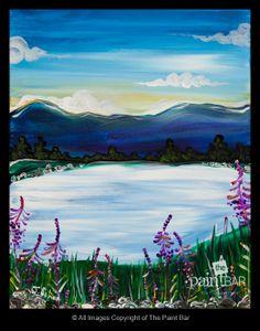 Lake Winnipesaukee Painting - Jackie Schon, The Paint Bar