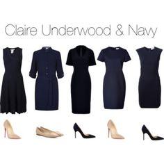 Claire Underwood & Navy