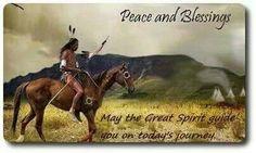 Native American Prayers