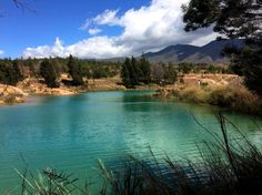 Pozos azules, Villa de Leyva, Boyaca. COLOMBIA