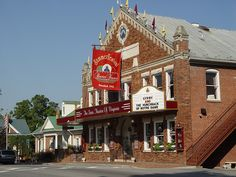 Barter Theater -- Abingdon, VA. (The State Theatre of Virginia)