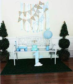 """What an adorable way to present a birthday cake at this vintage kite inspired """"Oh How Time Flies"""" 1st Birthday party! See more party ideas at  CatchMyParty.com"""