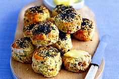 Impress friends and family with delightful bacon & chive scones served with lashings of butter.
