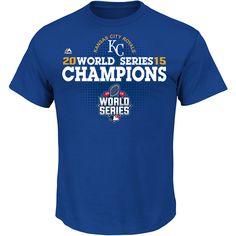 Kansas City Royals 2015 World Series Champions Victory Anthem T-Shirt - MLB.com Shop