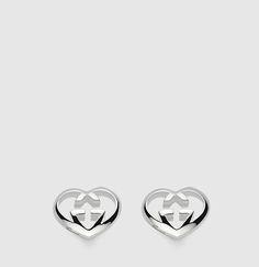 Gucci - boucles d'oreilles motif coeur GG. 246573J84008106