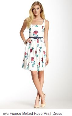 Nothing says feminine and pretty like a rose print. Specifically roses. Not all flowers.