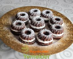 Kremalı Kakaolu Muffin Tarifi Cap Cake, Muffin, Turkish Recipes, Doughnut, Tart, Cooking, Desserts, Food, Recipes