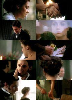 Screen caps - Daniela Denby-Ashe (Margaret Hale) & Richard Armitage (Mr. John Thornton) - North & South (TV, Mini-Series, 2004) #elizabethgaskell #fanart