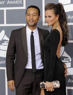 John Legend and his wife, Chrissy Teigen