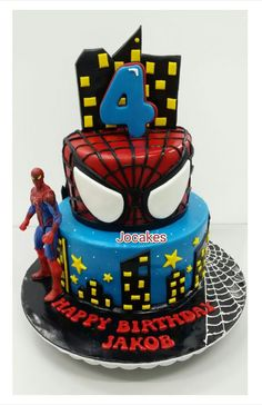 Image result for batman spiderman cake