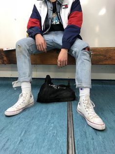 Aesthetic Picture Ideas aesthetic ideas outfits picture is part of Aesthetic clothes - Hipster Outfits, Tomboy Outfits, Cool Outfits, Fashion Outfits, Fashion Trends, 90s Outfit Men, Trendy Boy Outfits, Guy Outfits, Picture Outfits