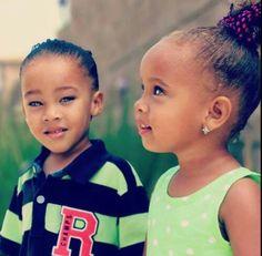 Beautiful little girls # most beautiful eyes ever Biracial Children, Biracial Babies, Cute Twins, Cute Babies, Baby Kids, Twin Babies, Brown Babies, Mixed Babies, Mixed Children