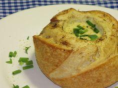 Receita de sopa creme de palmito e queijo