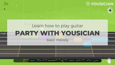 Your personal Guitar teacher! Learn how to play guitar with Yousician, it listens to you play and gives instant feedback. Guitar Party, Easy Guitar Songs, Learn To Play Guitar, Listening To You, Playing Guitar, Acoustic, App, Motivation, Learning